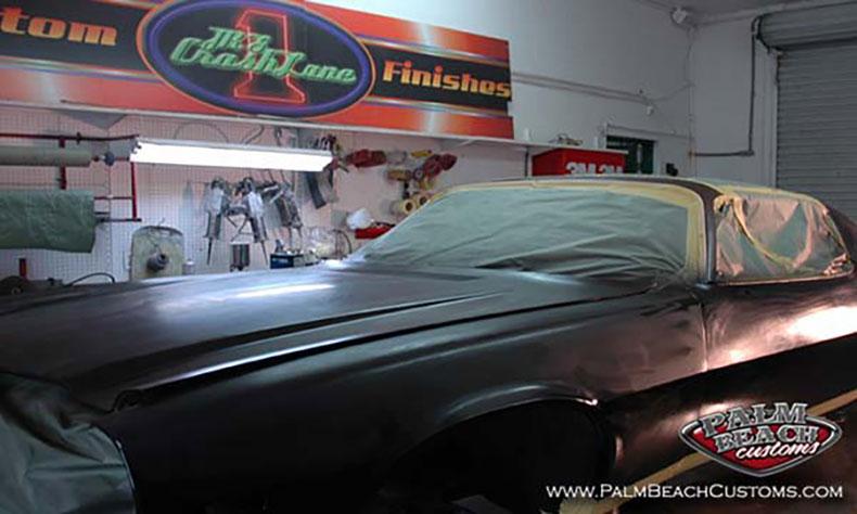 featured car 1970 camaro during primer