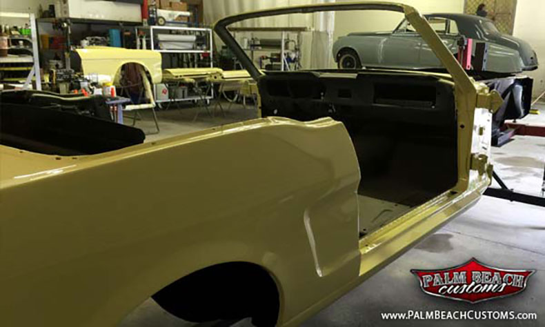 the american classic cars body painting