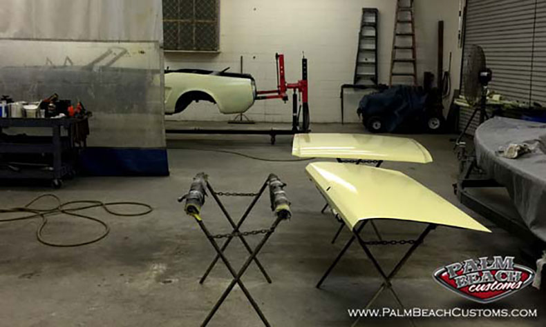 american classic cars '66 mustang colored primer