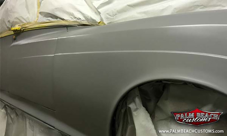 1961 rolls royce silver cloud build first stage of primer