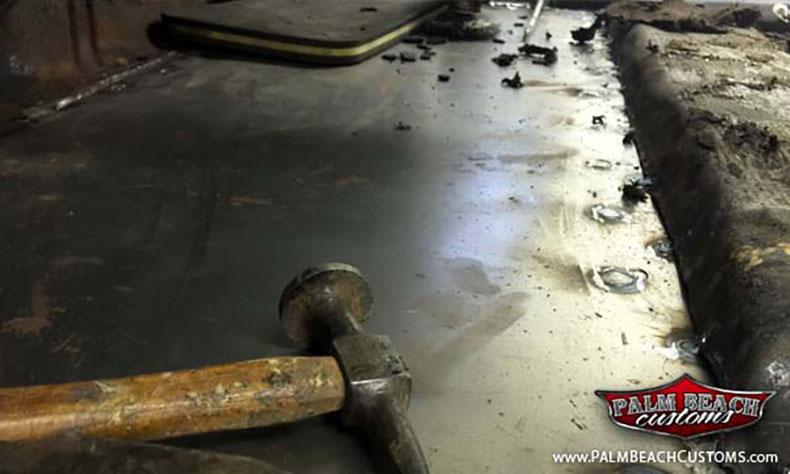 1967 cadillac eldorado show car build floor pans
