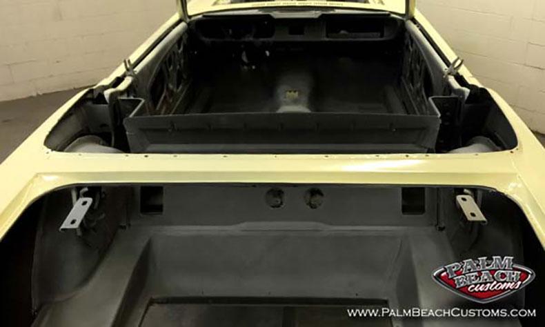 american classic cars interior seams sealed