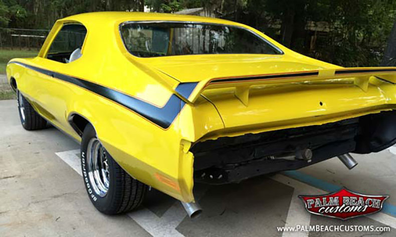1970 buick GSX stage 1rear view