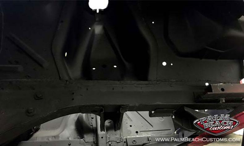 american classic cars underside seams sealed