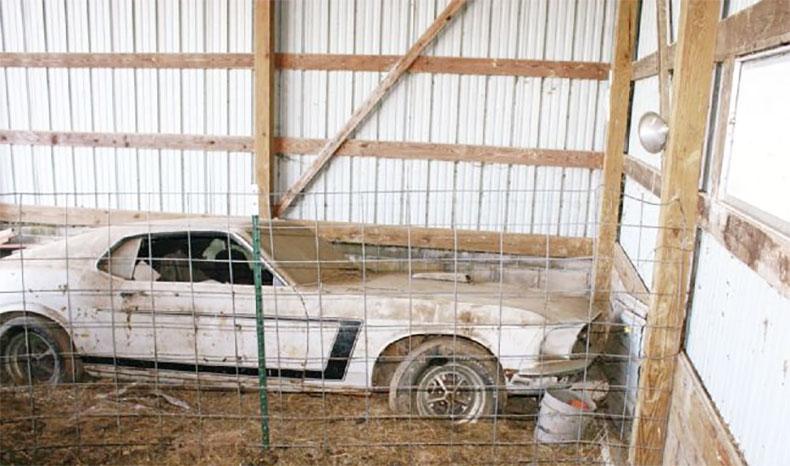 1969 boss 302 mustang inspiration car