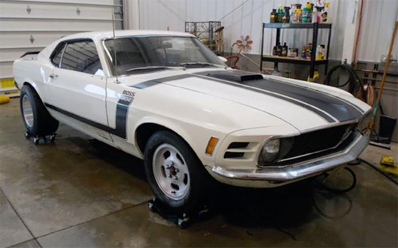barn find 1969 boss 302 mustang inspiration car