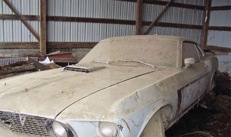 1969 boss mustang inspiration car