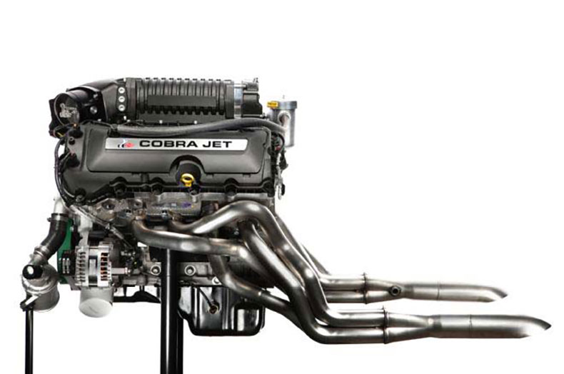 2016 cobra jet mustang ford engine exhaust