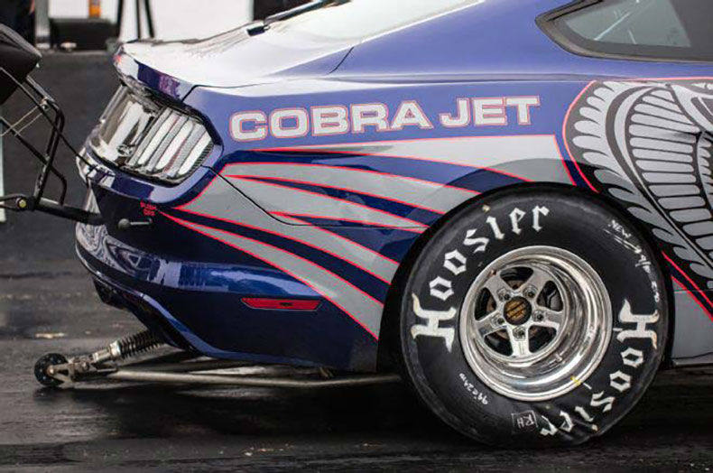 2016 cobra jet mustang ford cj tire wrinkle
