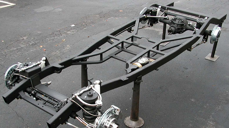 chevy coupe build 1937-40 chevrolet chassis