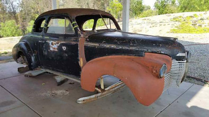 1940 chevy coupe build original dry car