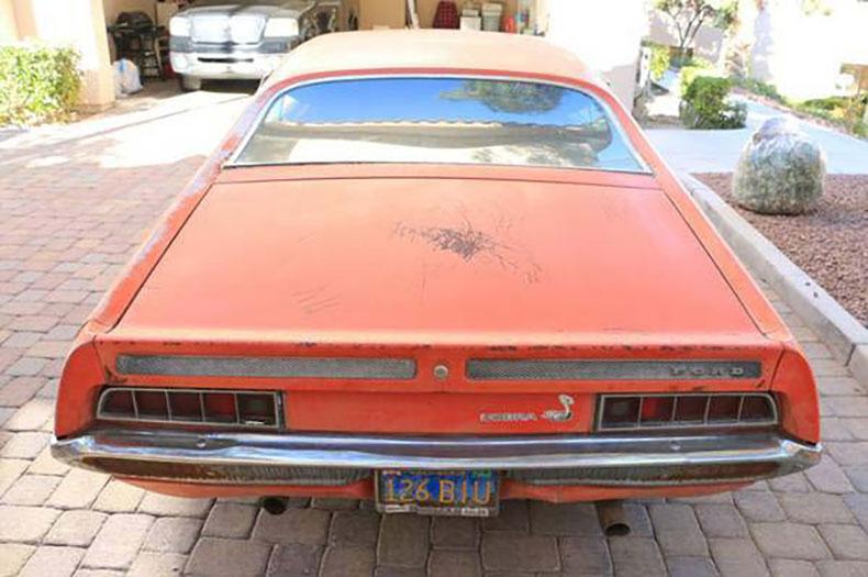 1970 ford torino cobra jet find back view