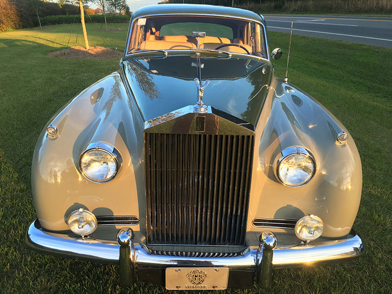 classic car restoration rolls royce dilver cloud restoration front view