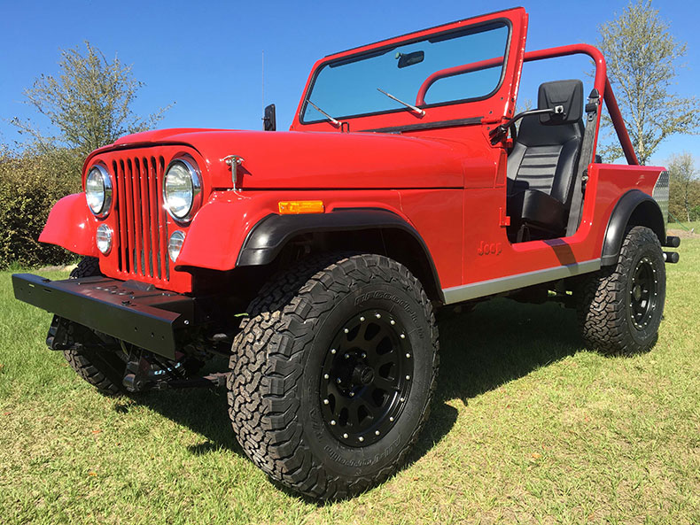 For Sale Is A 1984 Jeep CJ-7 Renegade (SOLD)