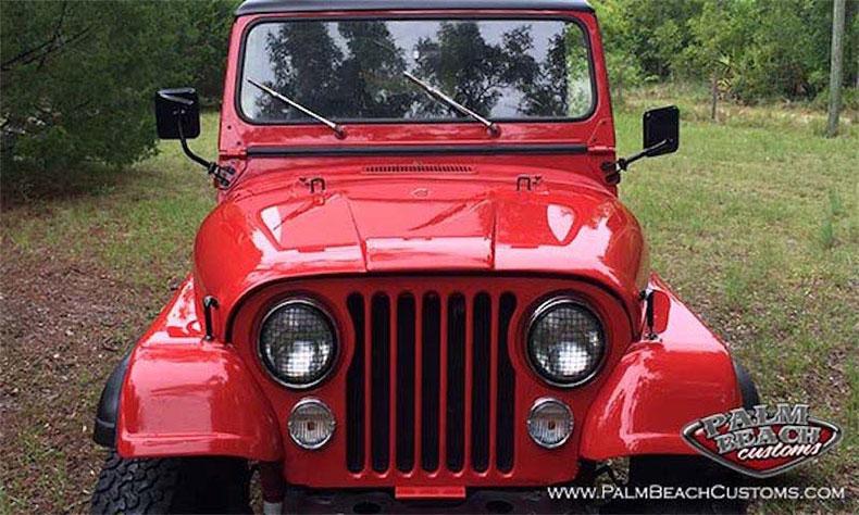 1984 jeep CJ-7 renegade front view 2