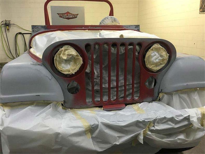 1984 jeep CJ-7 renegade restoration