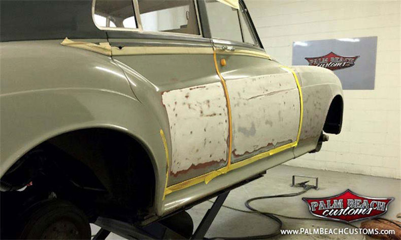 classic and muscle car restoration rolls royce resto 5