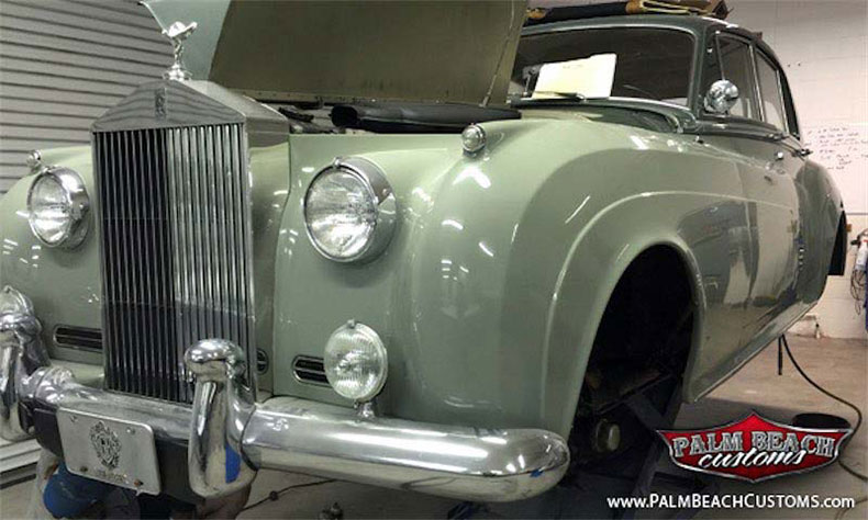 classic and muscle car restoration rolls royce resto 7