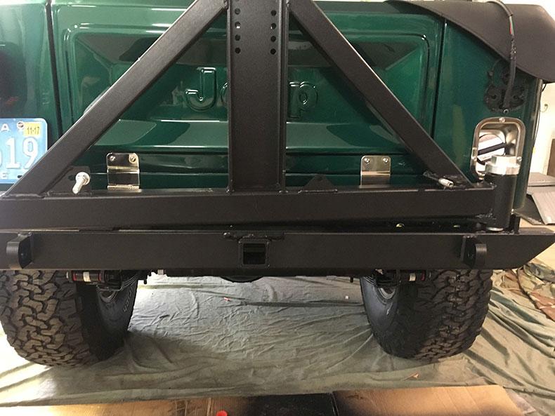 the beast 1979 Jeep CJ-7 back side
