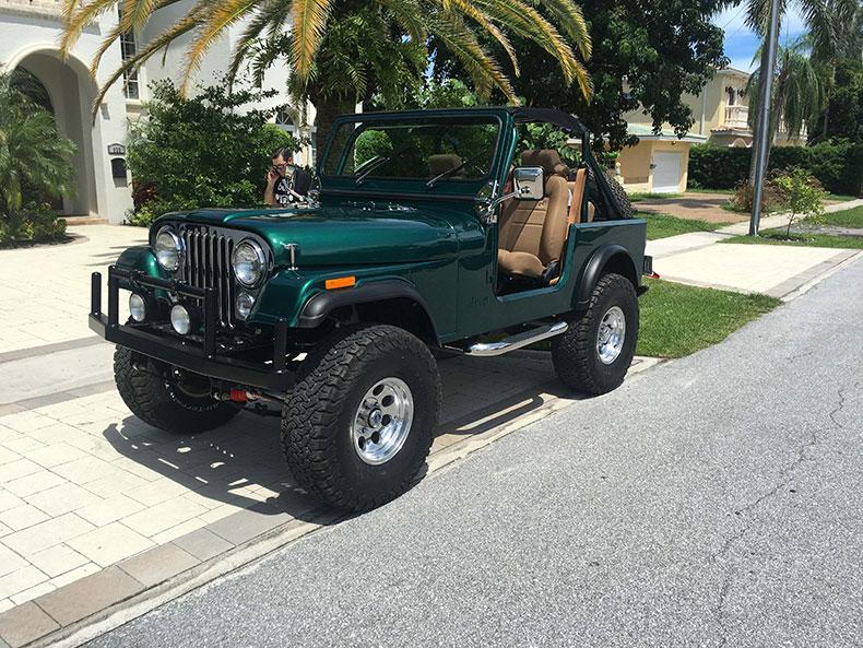 """The Beast"" 1979 Jeep CJ-7 Frame Off Restoration In Our Jeep Restoration Shop Florida"