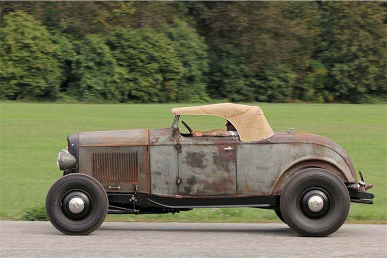 vintage classic car barn find ready for restoration 1932 ford roadster