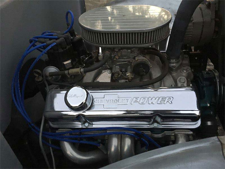 1936 ford 5 window coupe engine