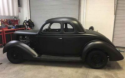1936 Ford Coupe Restoration At Palm Beach Customs In Florida