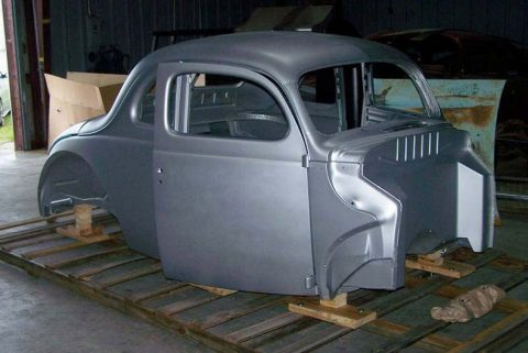 A Beautiful 1940 Ford Coupe Body For Your Restoration Process!