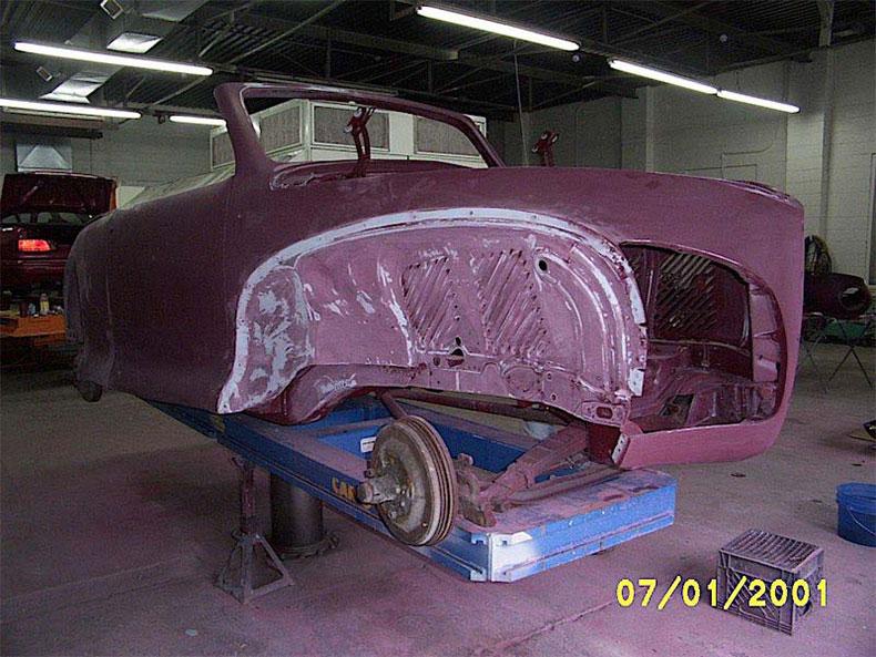 palm beach customs classic car restoration 1941 lincoln zephyr restoration