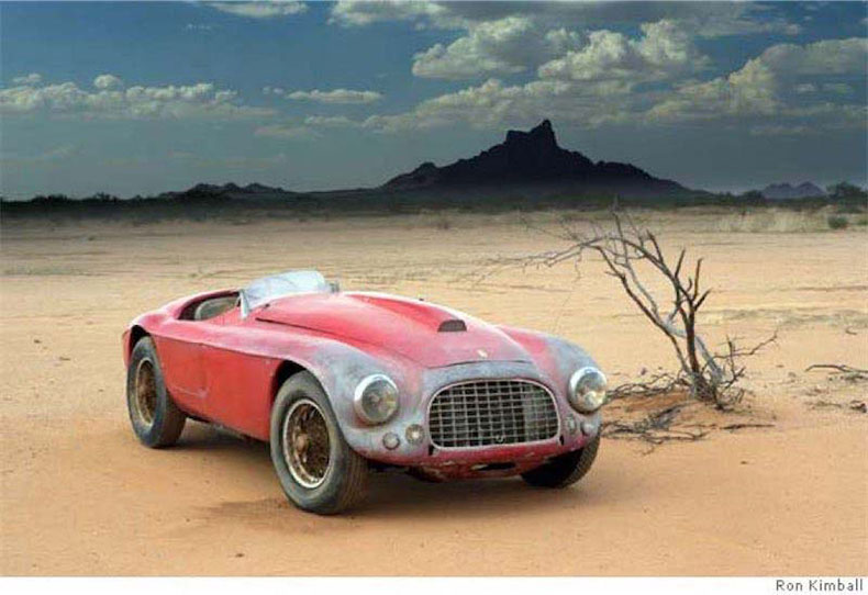 1950 ferrari 166MM barchetta