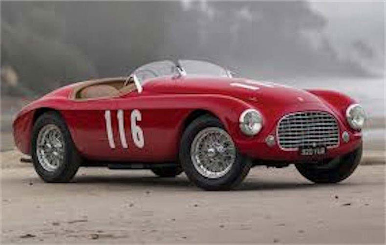 1950 ferrari 166MM barchetta 2