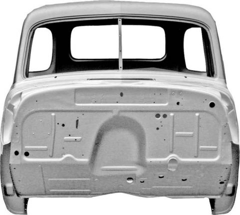 The Only Things You Need For Restoration Is This 1952-54 Chevy Cab Steel Body