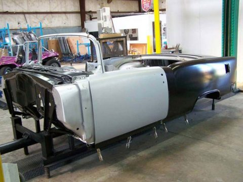 The Highest Quality 1955-57 Chevy Convertible Body Skeleton!
