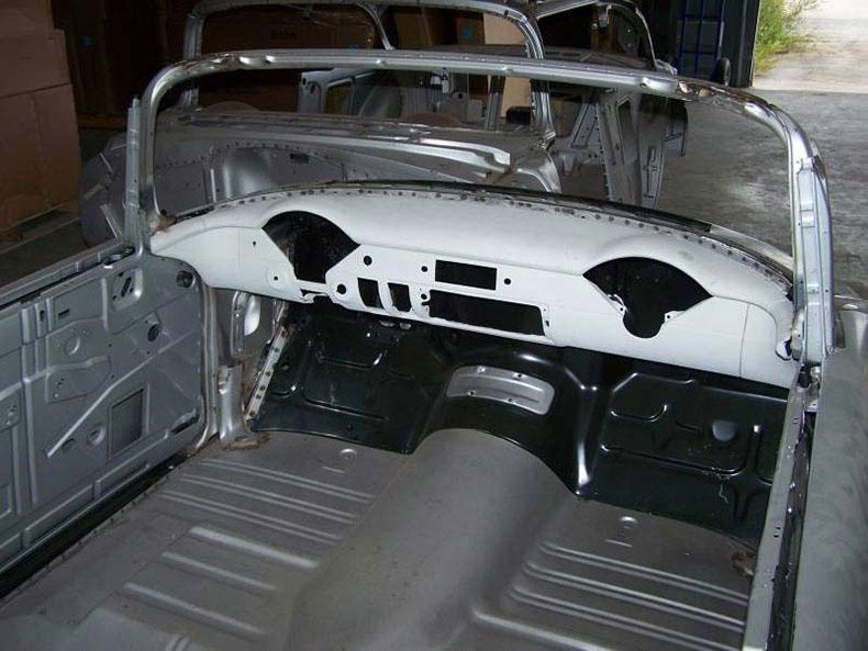 1955 chevy body skeleton 2