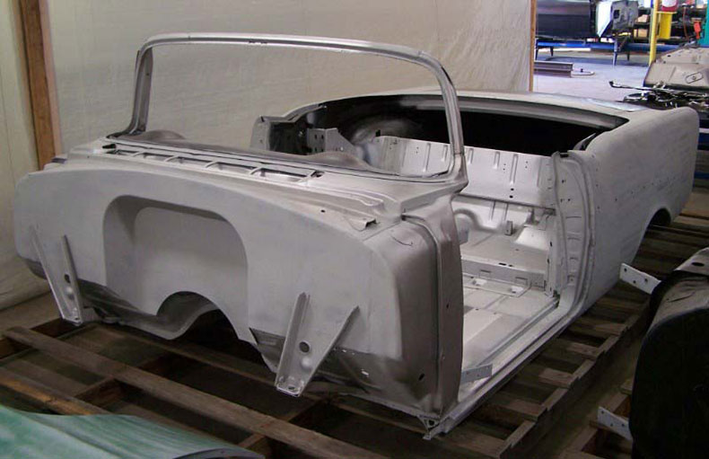1955 chevy body skeleton 1