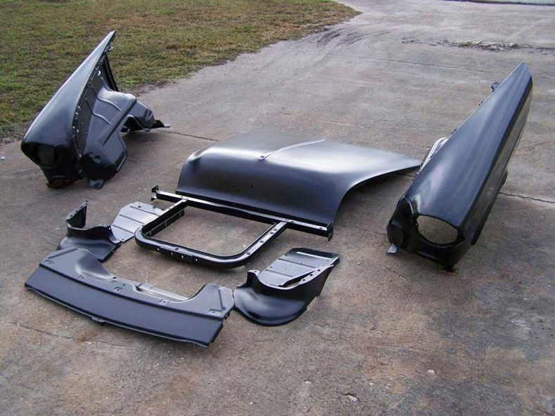1955 chevy front end sheet metal 1