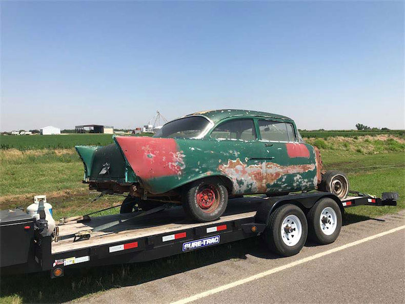 original classic and muscle cars for restoration 1956 chevy