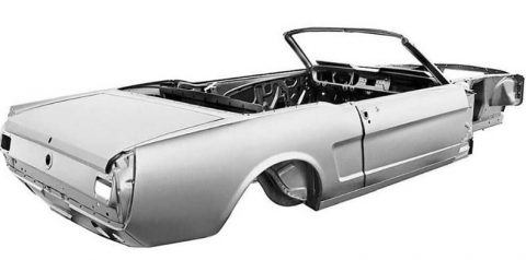 The Best Convertible Skeleton For Your Mustang 1965-66