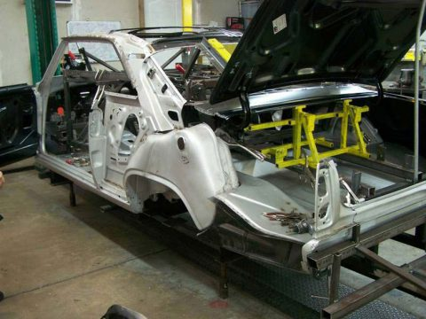 This 1966-67 Chevy Skeleton Is All You Need For Restoring Your Car's Beauty!