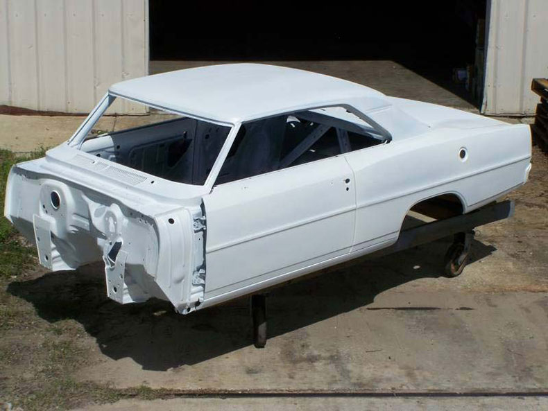 1966-67 chevy II nova skeleton body