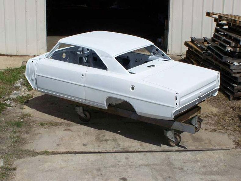 1966-67 chevy II nova steel body
