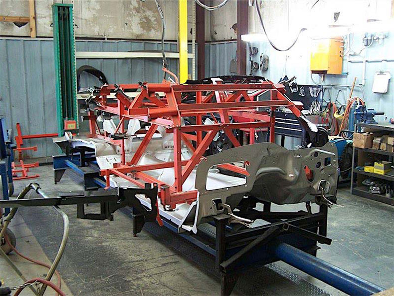 1967-1969 camaro steel bodies, parts, and services at muscle car restoration shop