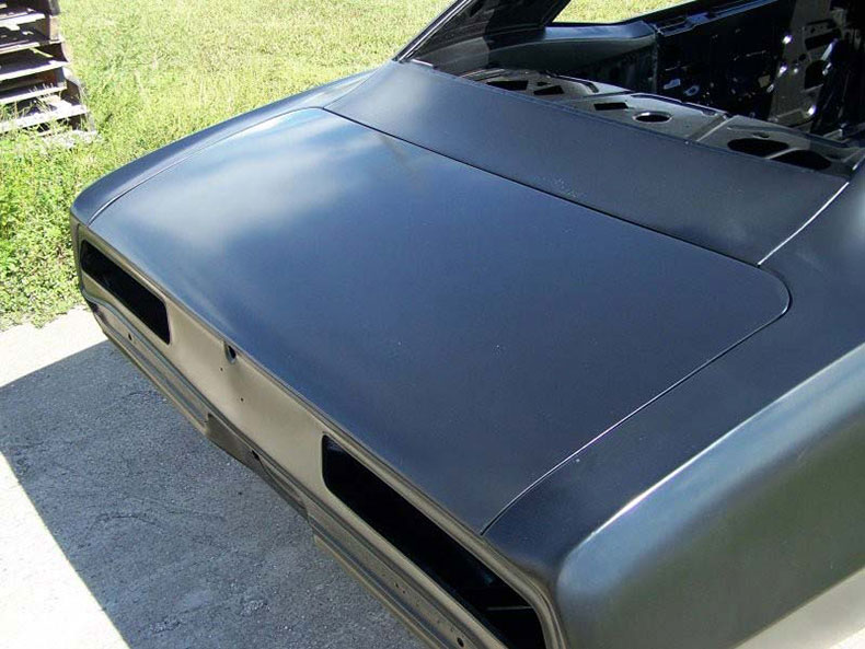 This Complete 1969 Camaro Coupe With Factory A/C Firewall, Drip Rails, Quarter Panels, Top Skin, Doors & Deck Lip Has The Potential To Win Your Heart