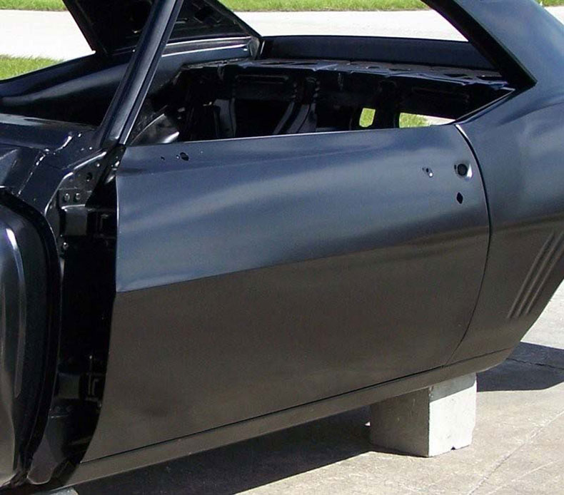 1967-69 camaro convertible body complete with factory air conditioning firewall top skin drip rails quarter pa