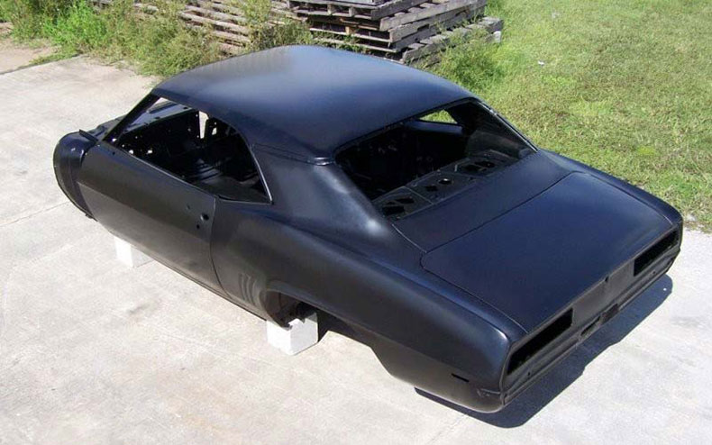 1967-69 camaro coupe complete package with factory air conditioning firewall top skin drip rails quarter panels doors deck