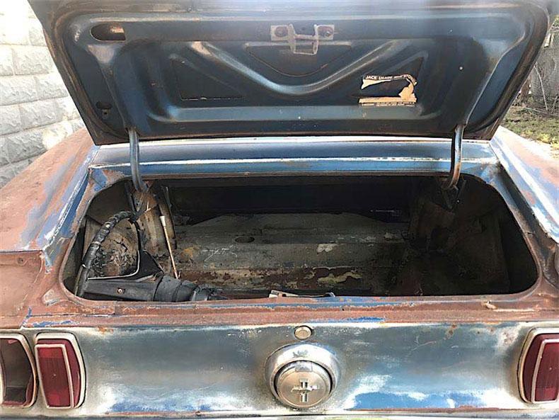 rare 1969 mustang r code restoration 3