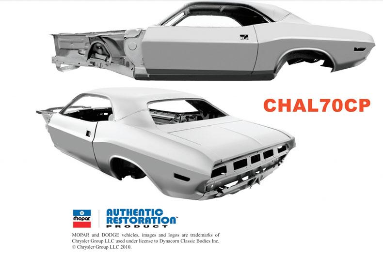 1970 challenger steel body