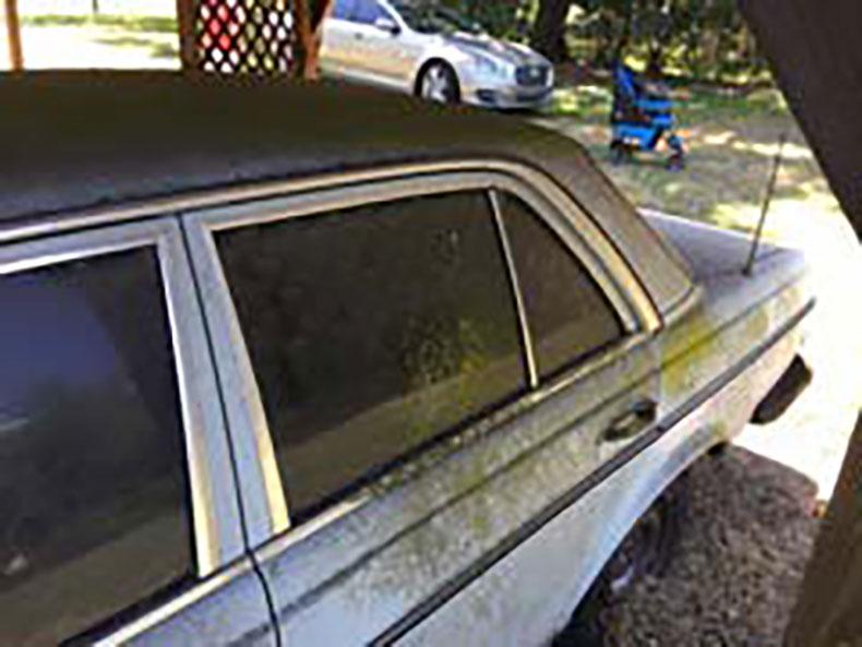 before 1978 mercedes restoration 7