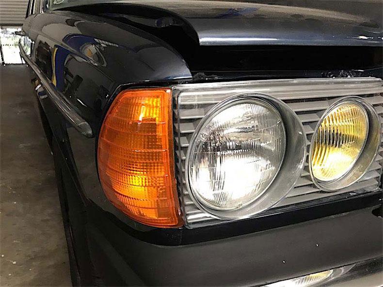 1978 Mercedes restoration