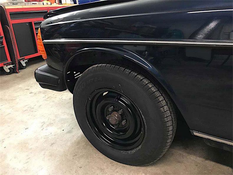 1978 Mercedes restoration 2